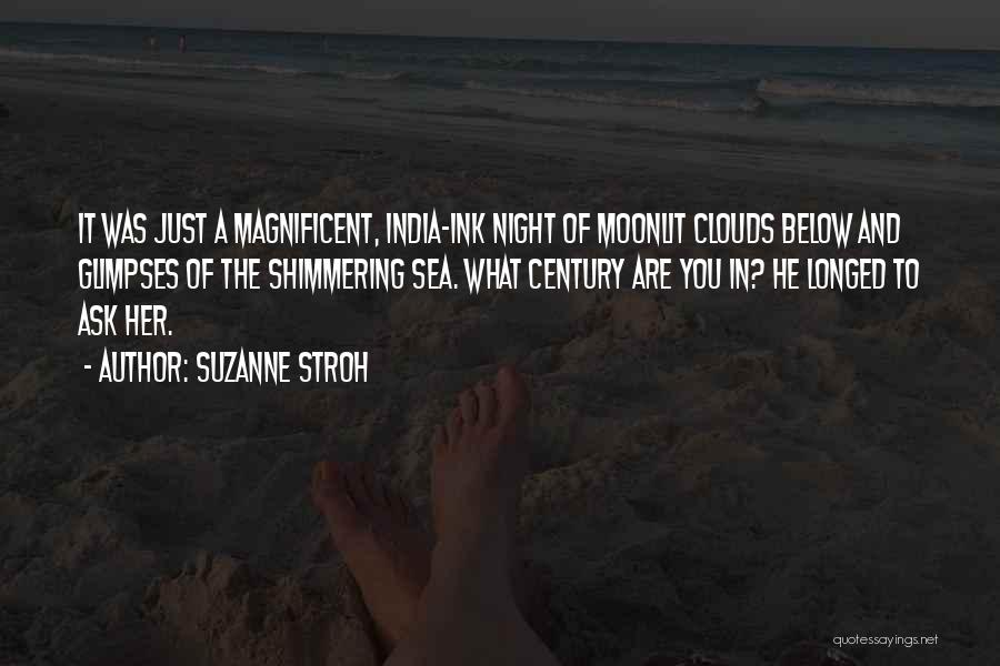 Sea And Clouds Quotes By Suzanne Stroh
