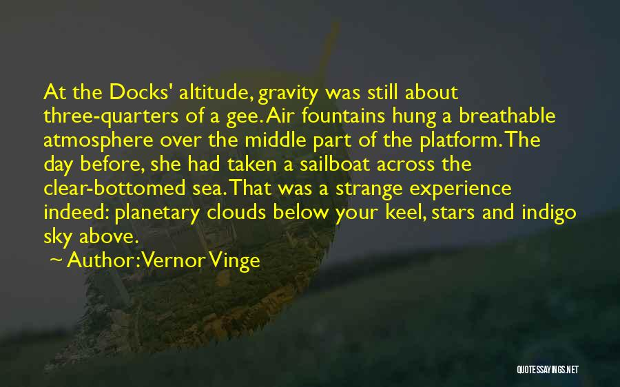 Sea And Clouds Quotes By Vernor Vinge