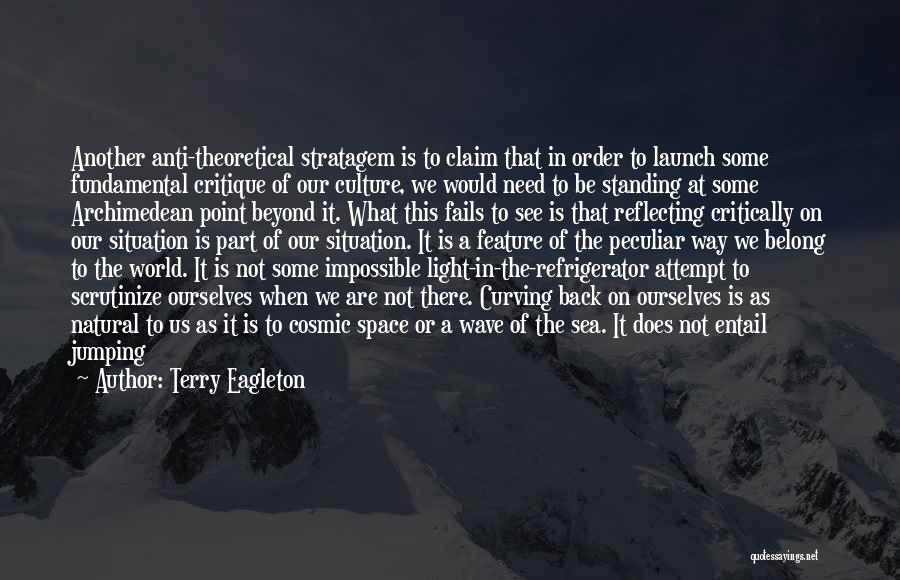 Sea Species Quotes By Terry Eagleton