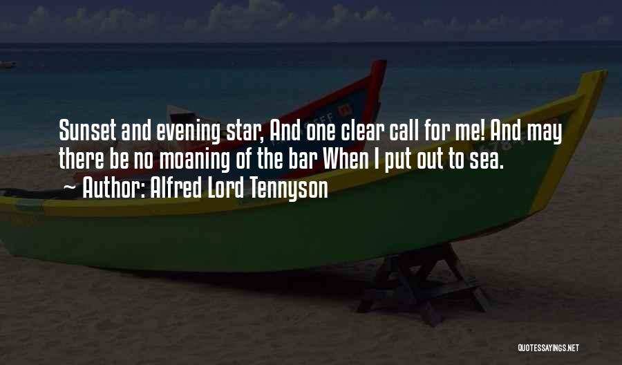 Sea Sunset Quotes By Alfred Lord Tennyson