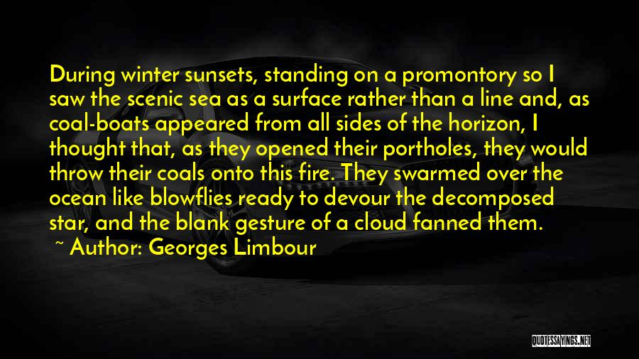 Sea Sunset Quotes By Georges Limbour