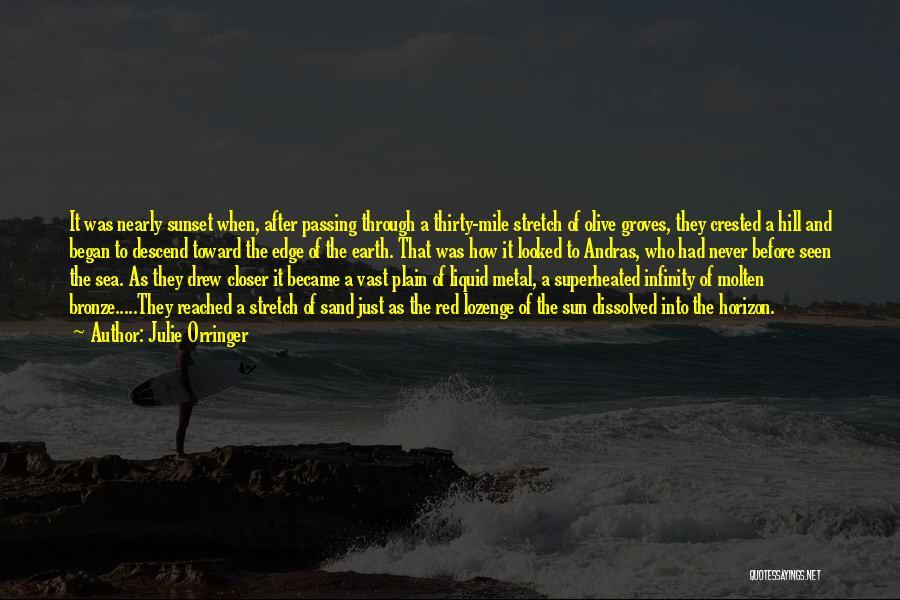 Sea Sunset Quotes By Julie Orringer