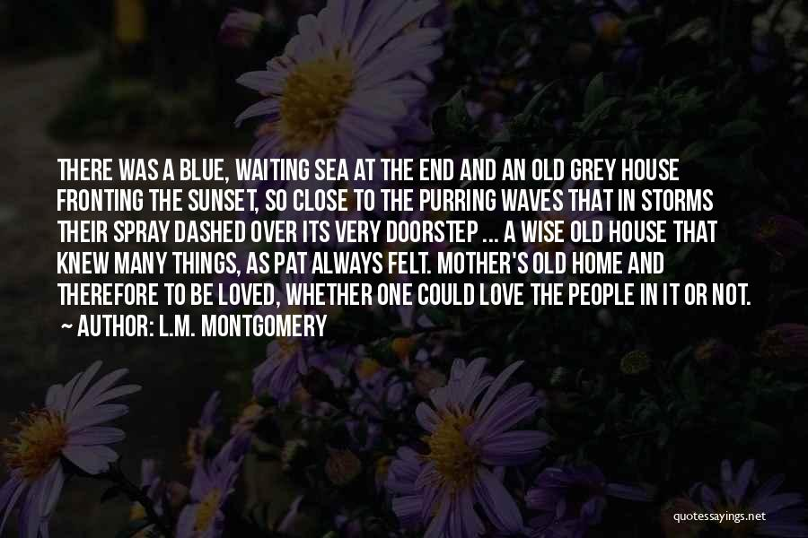 Sea Sunset Quotes By L.M. Montgomery