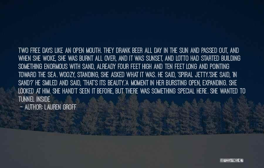 Sea Sunset Quotes By Lauren Groff