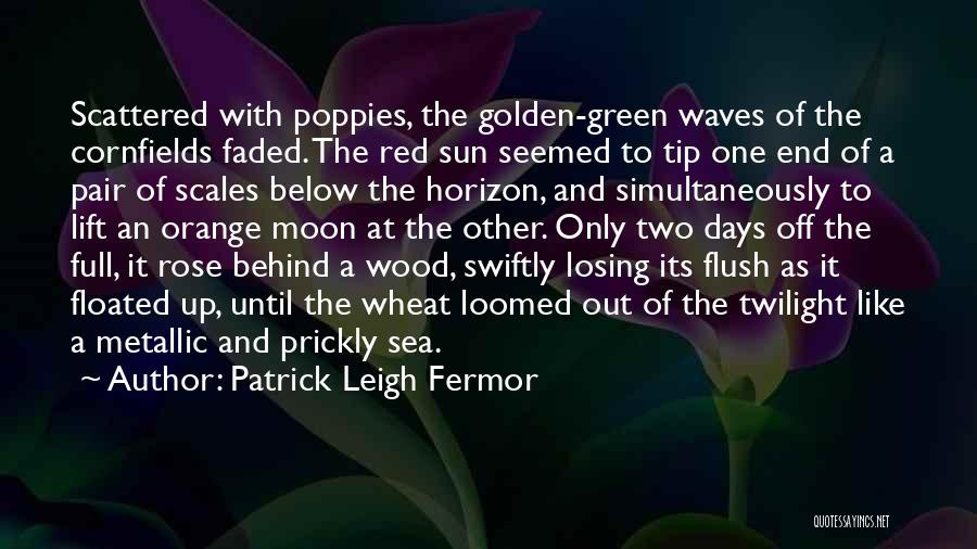 Sea Sunset Quotes By Patrick Leigh Fermor