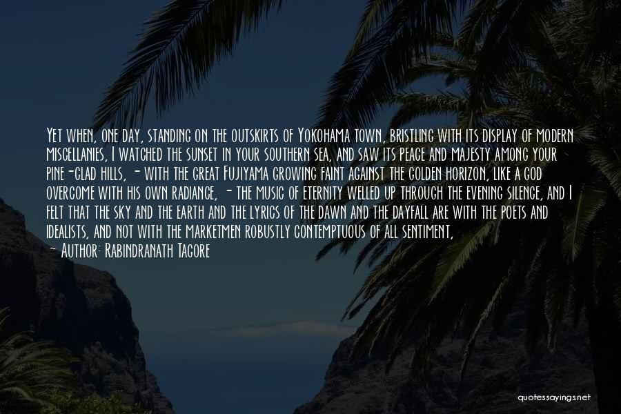 Sea Sunset Quotes By Rabindranath Tagore