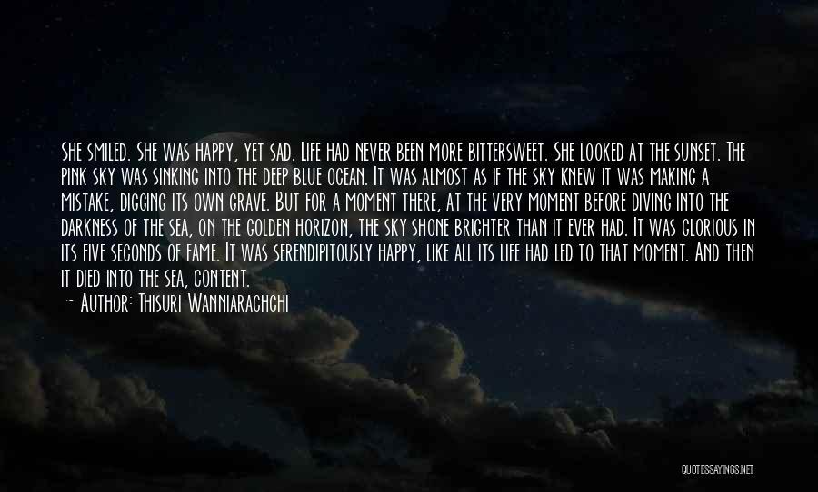 Sea Sunset Quotes By Thisuri Wanniarachchi