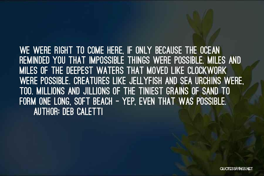 Sea Urchins Quotes By Deb Caletti