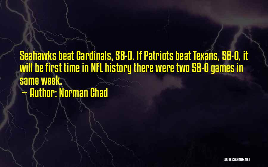 Seahawks Quotes By Norman Chad