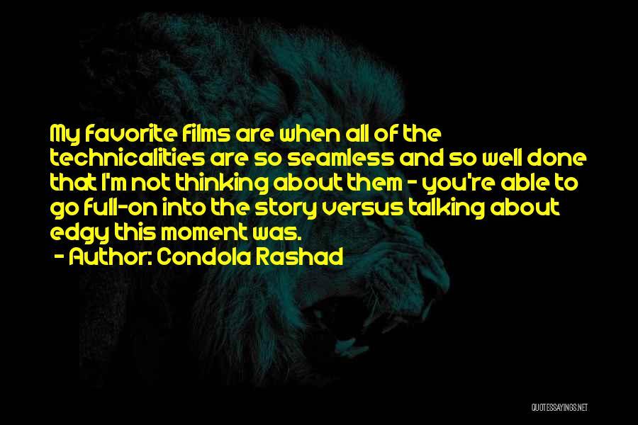 Seamless Quotes By Condola Rashad