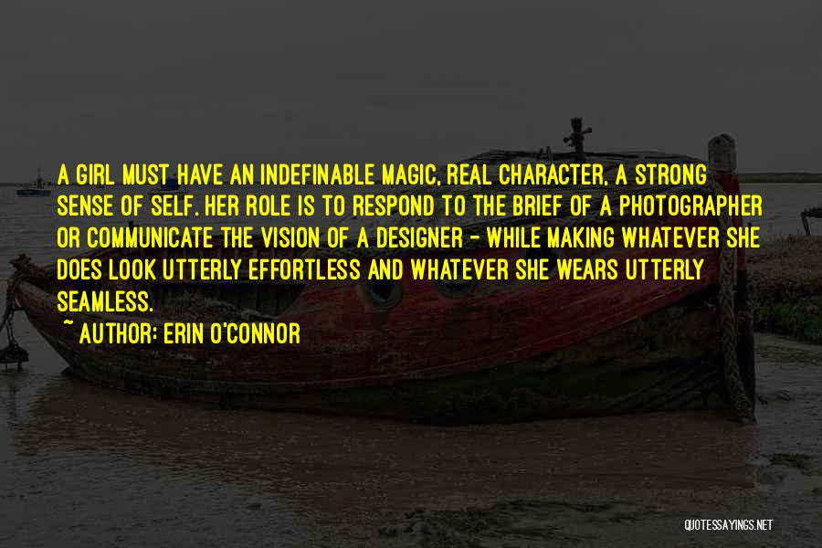 Seamless Quotes By Erin O'Connor