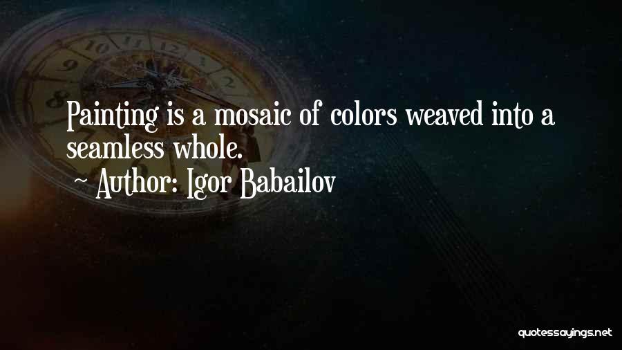 Seamless Quotes By Igor Babailov
