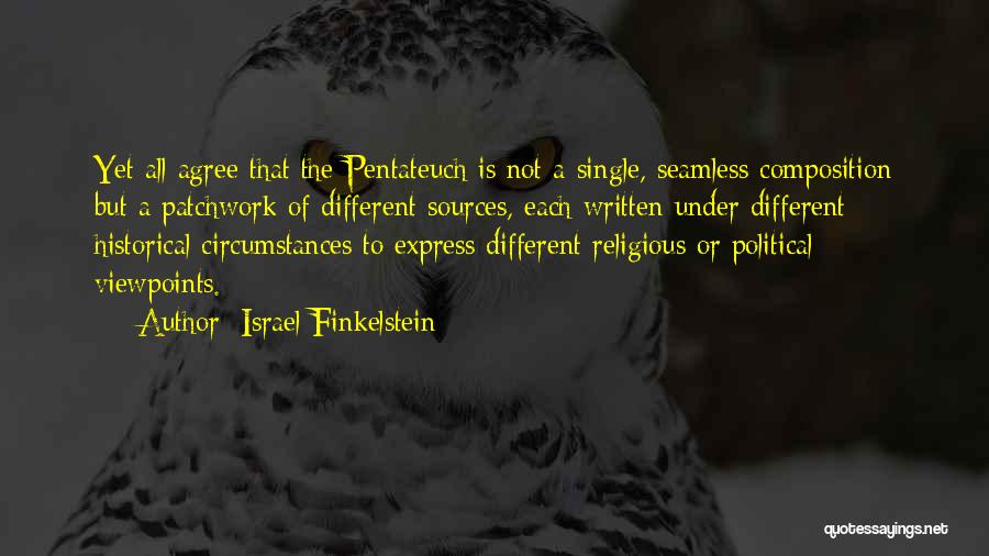Seamless Quotes By Israel Finkelstein