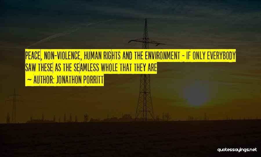 Seamless Quotes By Jonathon Porritt