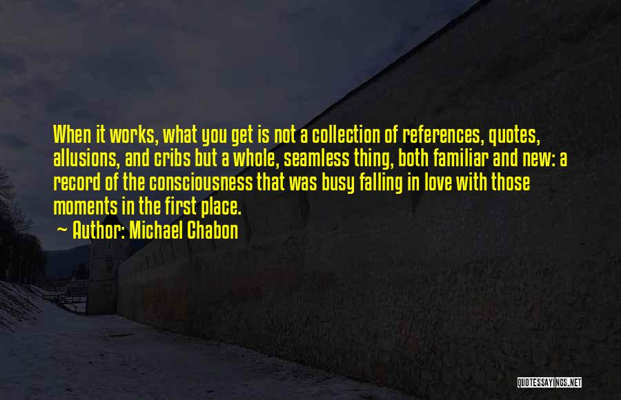 Seamless Quotes By Michael Chabon