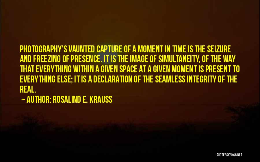 Seamless Quotes By Rosalind E. Krauss