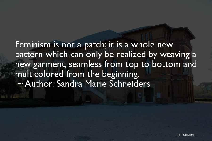 Seamless Quotes By Sandra Marie Schneiders