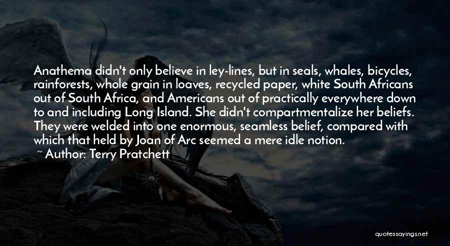 Seamless Quotes By Terry Pratchett
