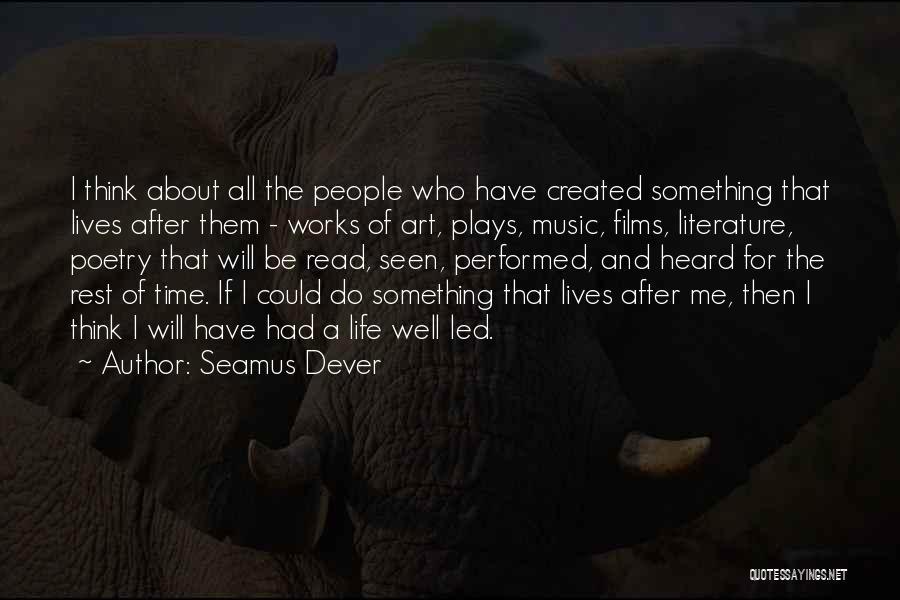 Seamus Dever Quotes 288116