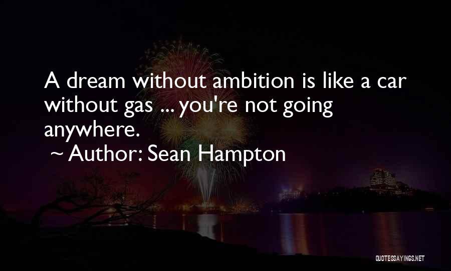 Sean Hampton Quotes 2215306