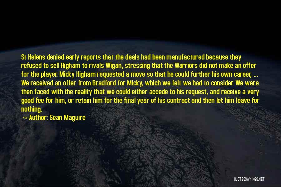 Sean Maguire Quotes 284830