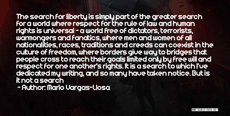 Search Free Quotes By Mario Vargas-Llosa