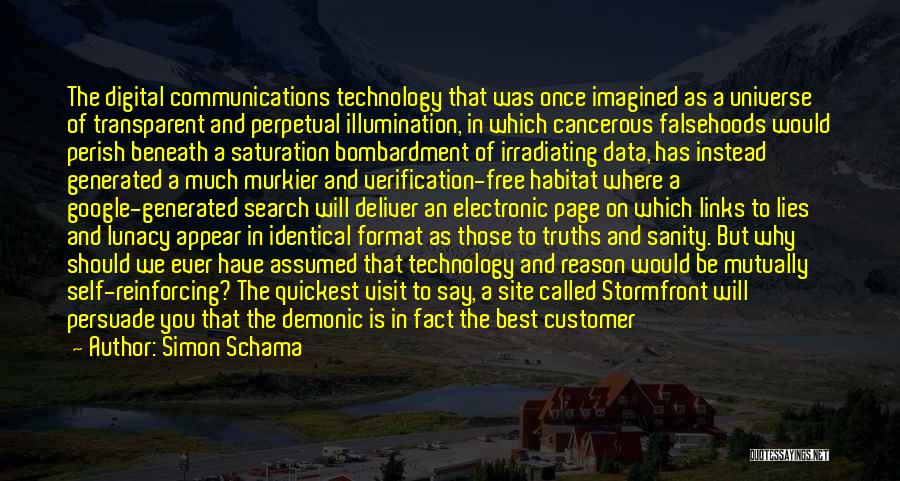 Search Free Quotes By Simon Schama