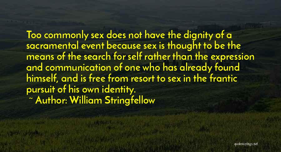 Search Free Quotes By William Stringfellow