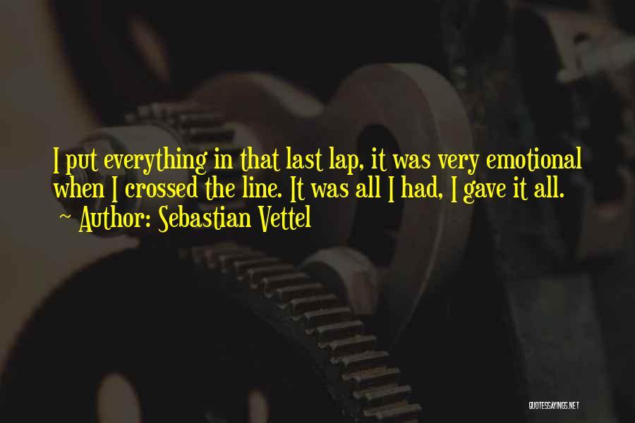 Sebastian Vettel Quotes 1978017