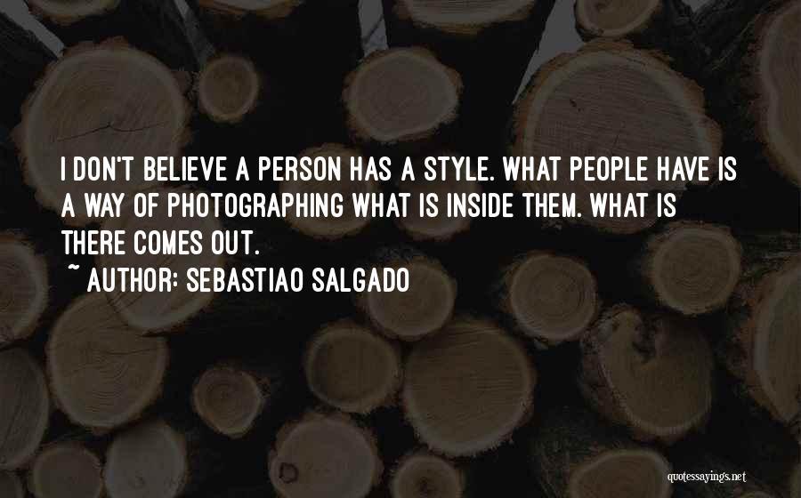 Sebastiao Salgado Quotes 795138