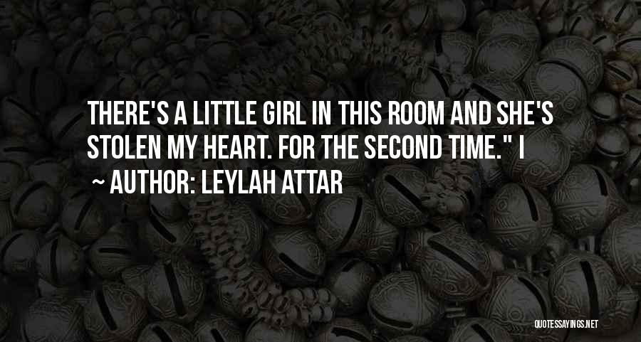 Second Best Girl Quotes By Leylah Attar
