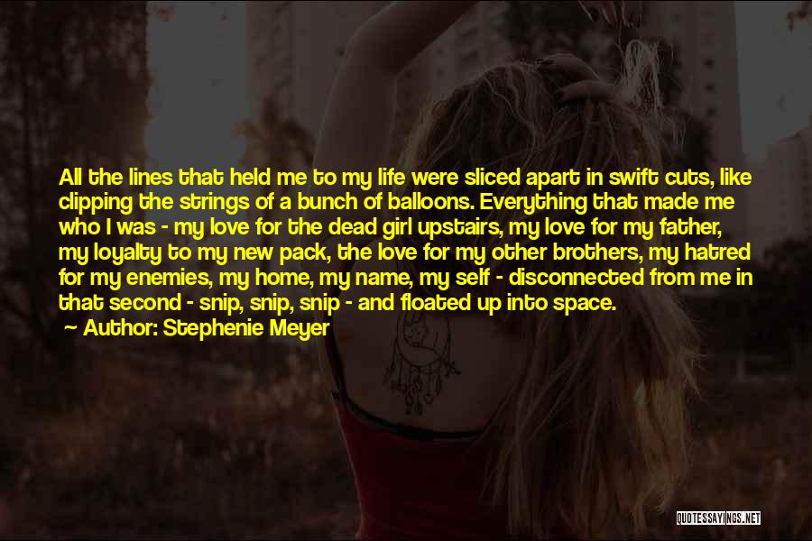 Second Best Girl Quotes By Stephenie Meyer