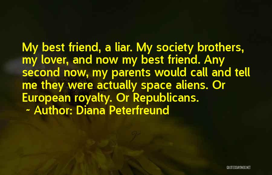 Second Lover Quotes By Diana Peterfreund
