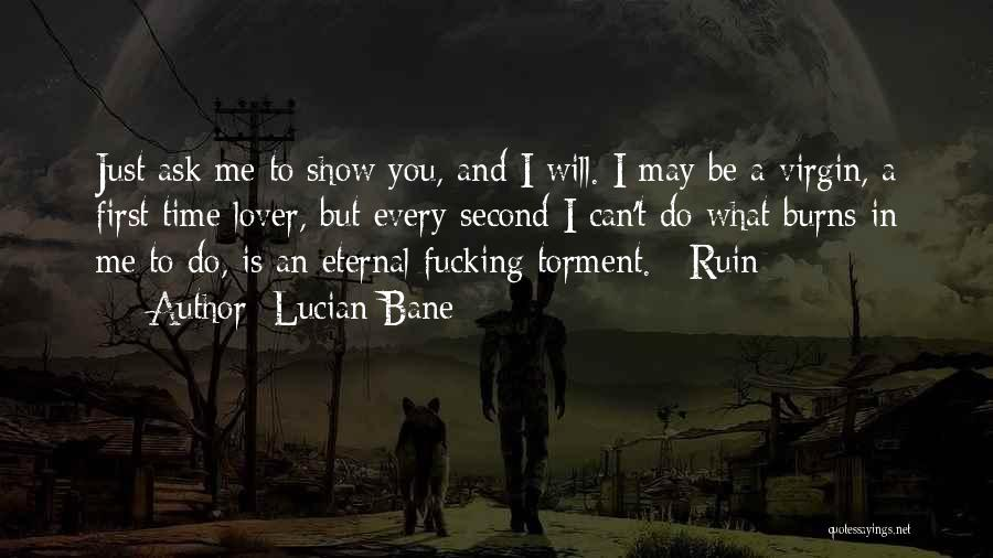 Second Lover Quotes By Lucian Bane