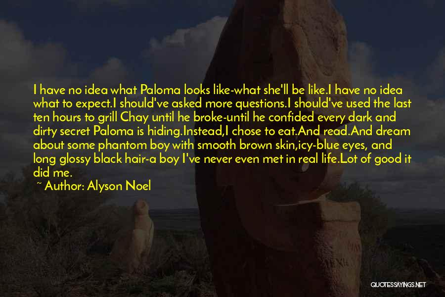 Secret Of Long Life Quotes By Alyson Noel