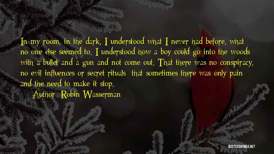 Secret Suicidal Quotes By Robin Wasserman