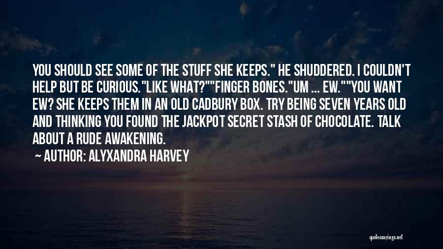 Secret Thinking Of You Quotes By Alyxandra Harvey