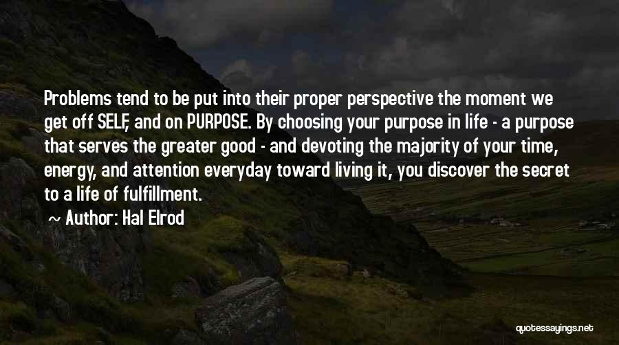 Secret Thinking Of You Quotes By Hal Elrod