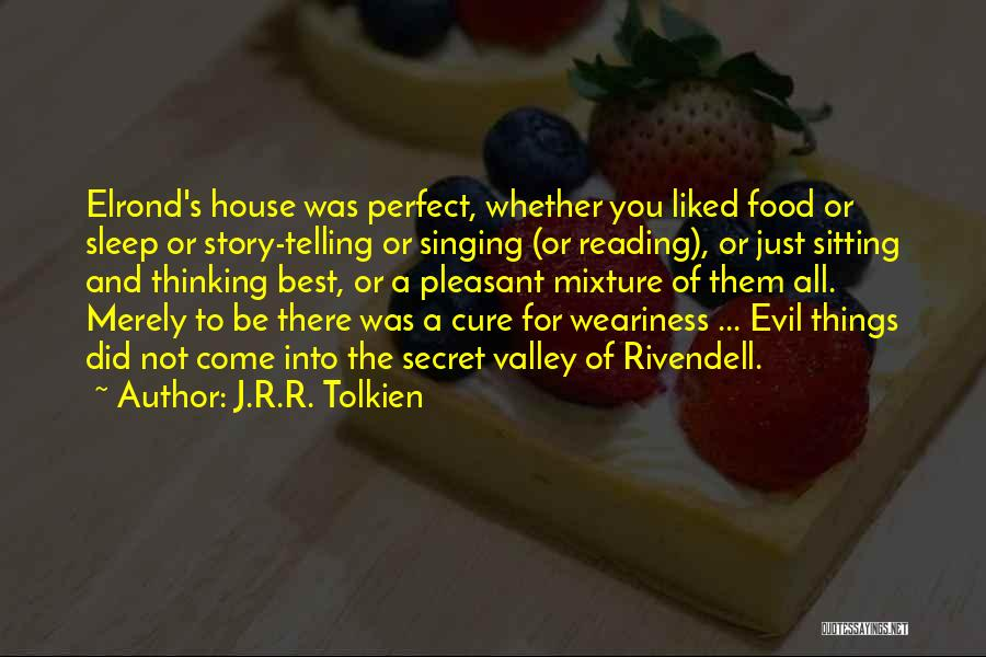 Secret Thinking Of You Quotes By J.R.R. Tolkien