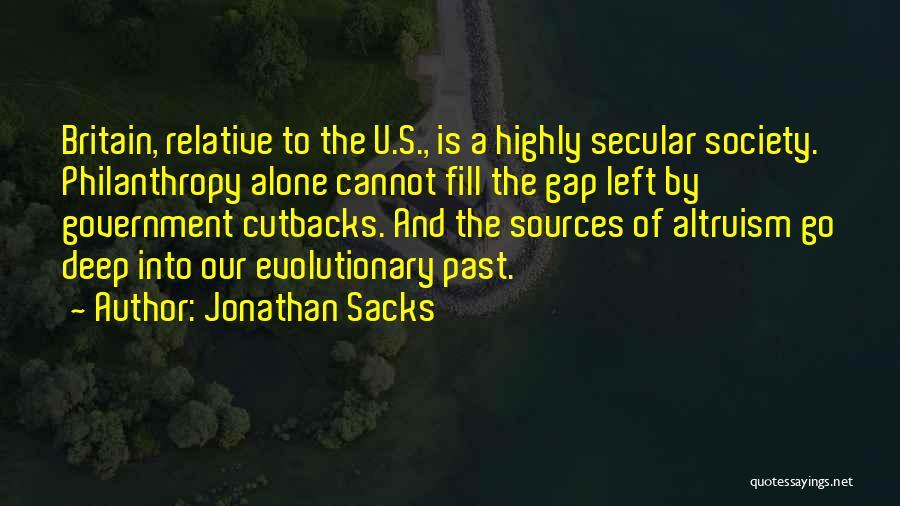 Secular Society Quotes By Jonathan Sacks
