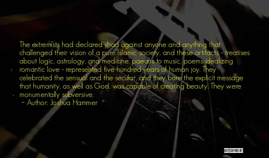 Secular Society Quotes By Joshua Hammer