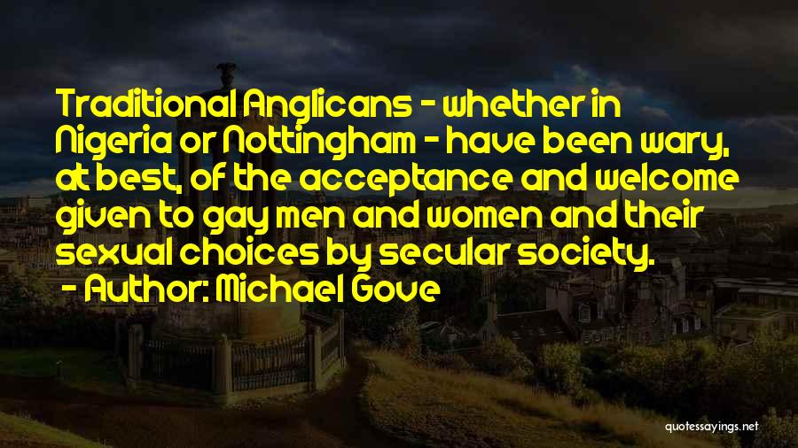 Secular Society Quotes By Michael Gove