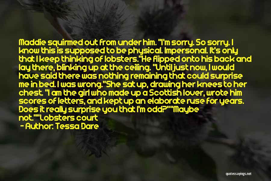 Secure Girl Quotes By Tessa Dare