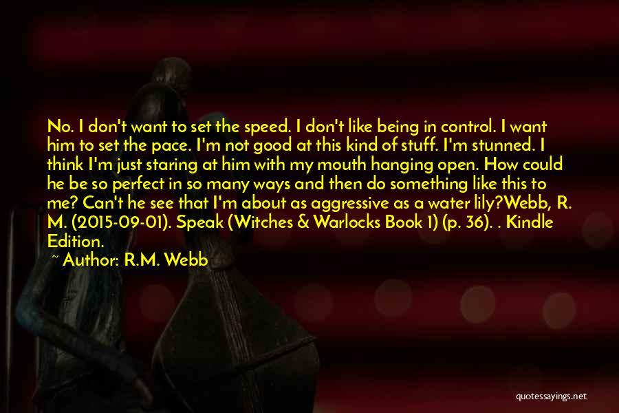 See Ya Quotes By R.M. Webb