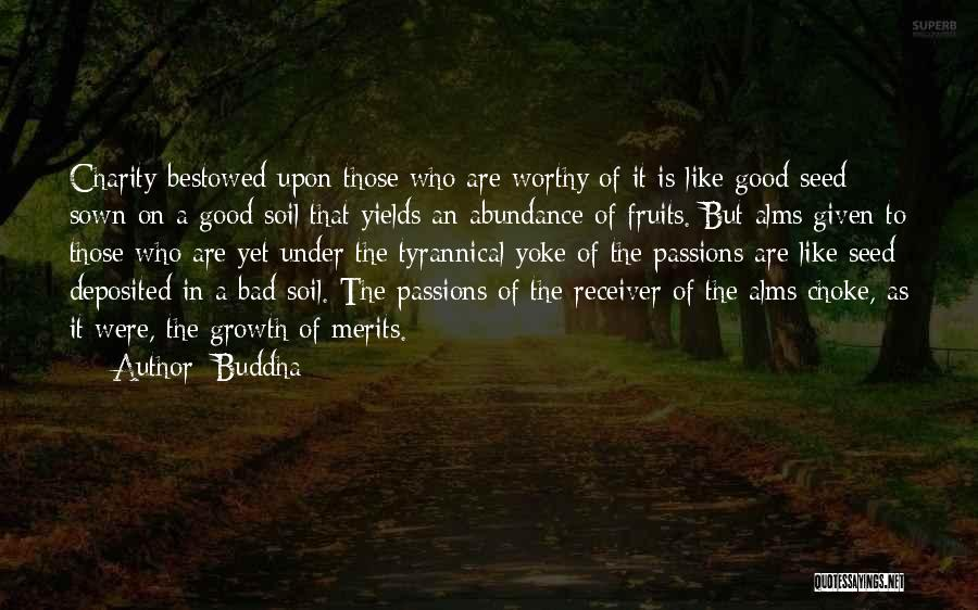 Seed Sown Quotes By Buddha