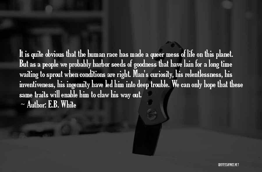 Seeds Of Hope Quotes By E.B. White