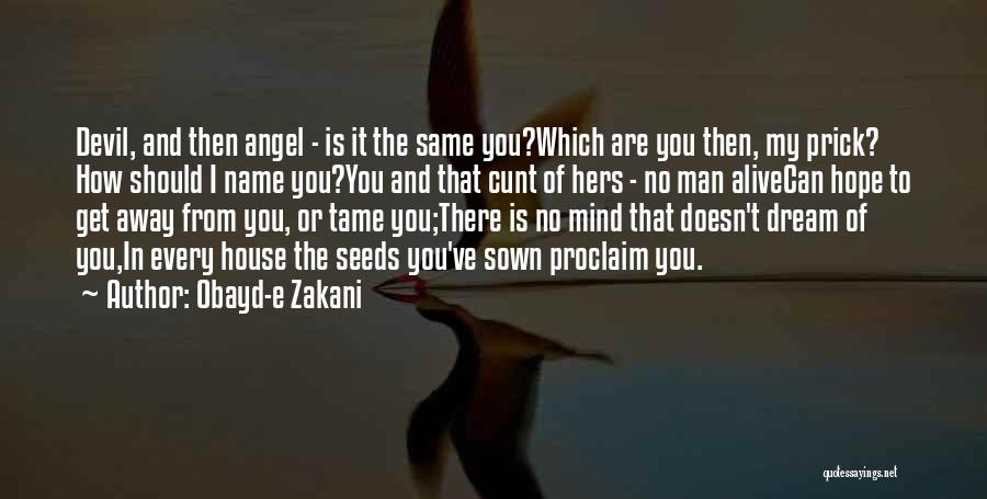 Seeds Of Hope Quotes By Obayd-e Zakani