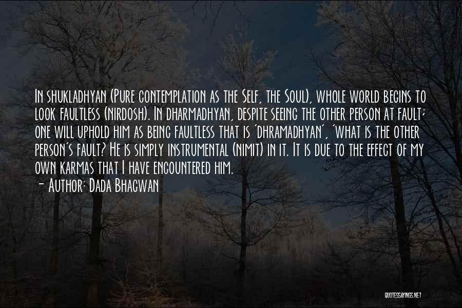 Seeing Him Quotes By Dada Bhagwan