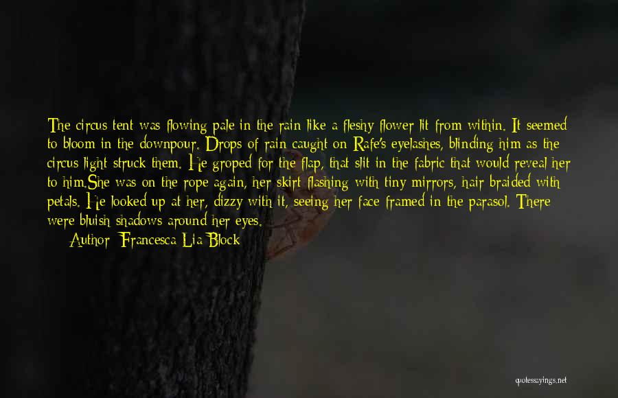 Seeing Him Quotes By Francesca Lia Block