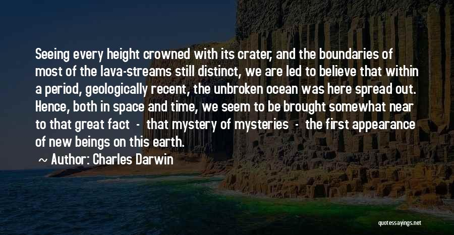 Seeing The Ocean For The First Time Quotes By Charles Darwin